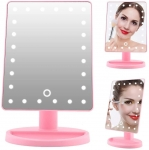 Illuminated Cosmetic Mirror 10X Magnification Vanity Mirror LED