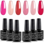 Lagunamoon Multi-Colours Gel Nail Polish Set