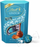 Lindt Lindor Milk Chocolate Salted Caramel Chocolate Gift Box, 200 g