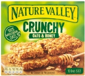 Nature Valley Crunchy Oats & Honey Bars 210g Pack of 5