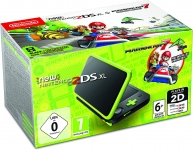 Nintendo Handheld Console – New Nintendo 2DS XL – Black and Lime Green