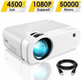 Portable Projector with 4500 Lux