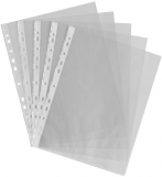 ProOffice 11089257-000 Value A4 Light Weight Finish Punched Pocket (Pack of 100)