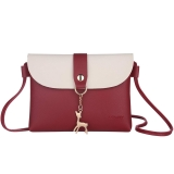 PU Leather Cross Body Shoulder Bag