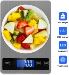 Rechargeable Digital Kitchen Scale