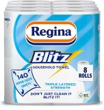 Regina Blitz Household Towels 8 Rolls