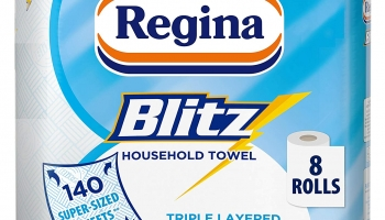 Cheap Regina Blitz Household Towels 8 Rolls