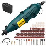 Rotary Tool Kit 6 Varible Speed Rotary Multi Tool with Flex Shaft and 100 Accessories