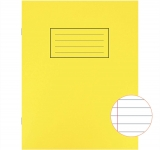 Ruled and Margin Exercise Book 80 Pages Pack of 10