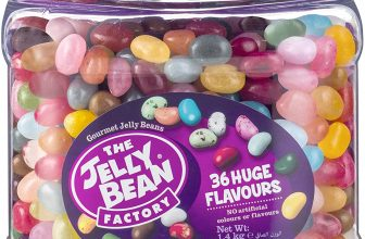 The Jelly Bean Factory 36 Huge Flavours 1.4kg Jar
