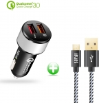 USB Cigarette Adapter Car Charger