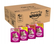 Whiskas Wet food pouches poultry Selection in Jelly
